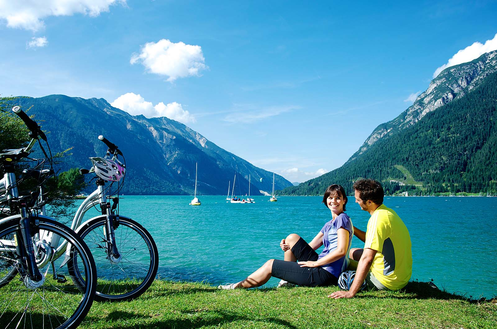 Achensee, E-Bike Tour  mit Rast am See